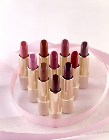 Various colors of lipstick Stock Photo - 9200771