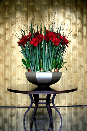 The design and materials of  various flowers photo