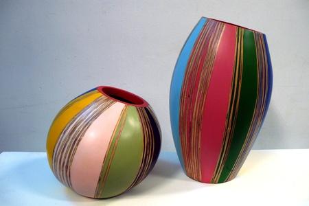 Color vase photo