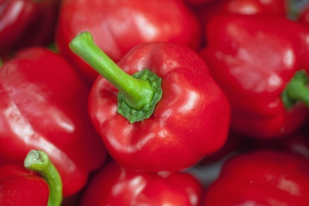 a red pepper Stock Photo - 9987076