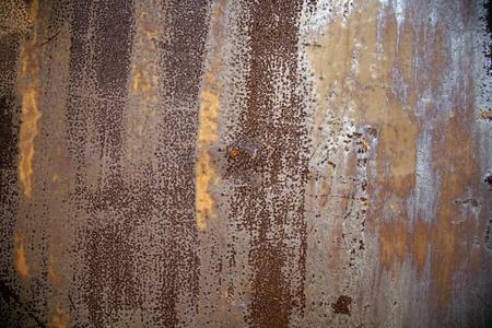 rust red: Fondo de hierro oxidado grunge Foto de archivo