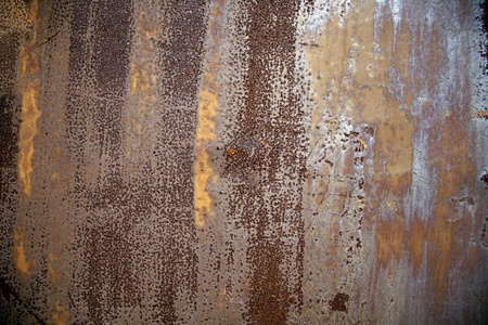 copper: Grunge rusty iron background