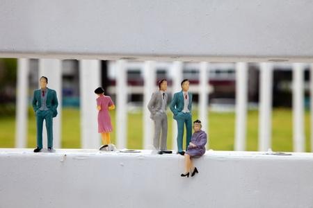 society issueplastic  miniature people lifestyle photo