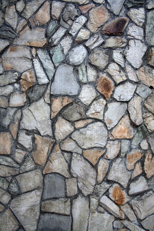 cobblestones: Rock wall graphic black lines