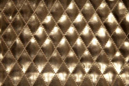 luxe: en cuir or pour texture de fond d'or Banque d'images