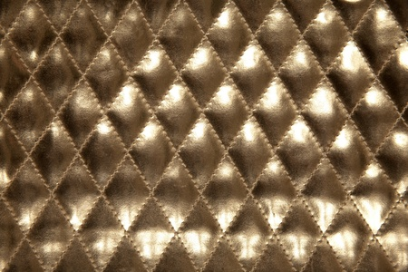 bronze: gold leather for gold texture background Stock Photo