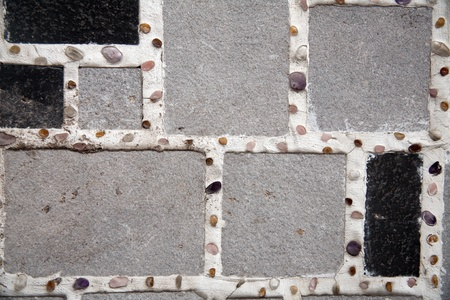 Graphic tiles of modern texture photo
