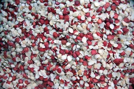Edible peanuts, sesame seeds, dried fruit plant photo