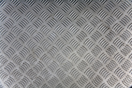 Seamless steel diamond plate texture Stock Photo