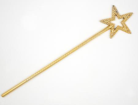 scettro: Bastone Jewelry isolato su bianco  oro scettro, lo scettro