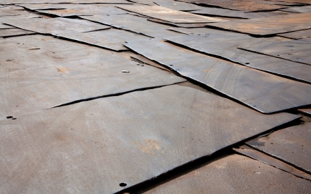 Rusty Corrugated Iron photo
