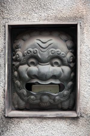 lion mailbox/lion gate Stock Photo - 17333490