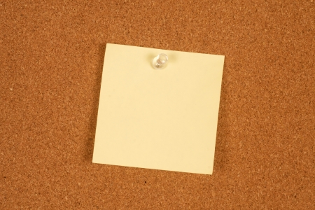Sticky paper on wall Stock Photo - 17329522