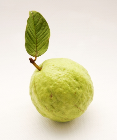 superfruit: quava green with leaf