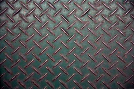 salvage yards: steel diamond plate texture