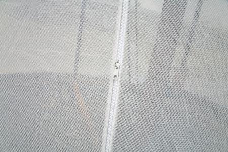 unzip on the white background Stock Photo - 17343679