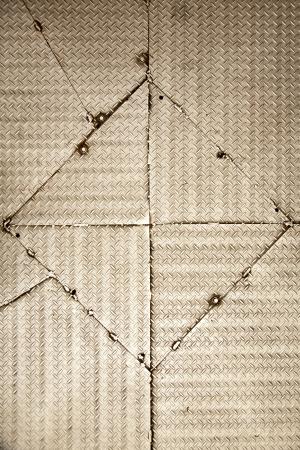 Seamless steel diamond plate texture Stock Photo - 17342558