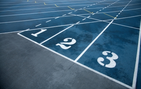 Running track rubber cover photo