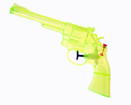 green water gun toy photo