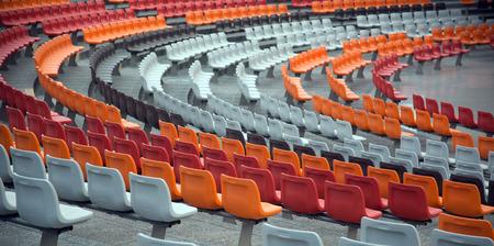 Stadium/stand and seats Stock Photo - 28174119