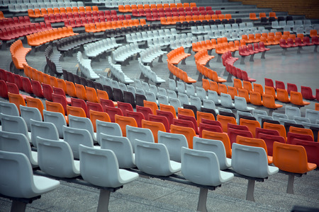 Stadium/stand and seats Stock Photo - 28174284