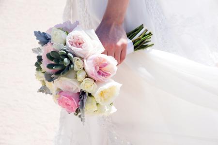 venue: Flowers at an outdoor wedding venueWedding venue flowers