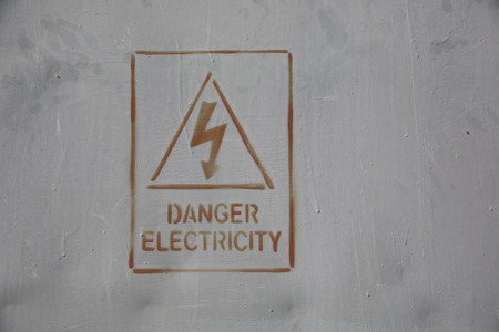 danger electricity signdanger electricity photo