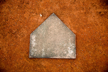 야구장  붉은 흙 스톡 콘텐츠