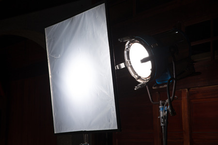 spot light on scene photo