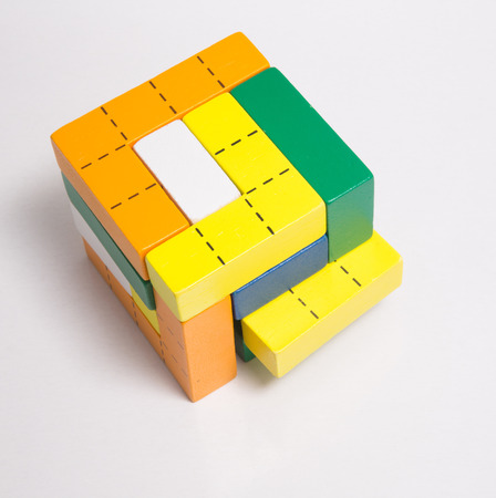 inanimate: color Wooden teaching aids