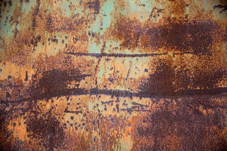 Obsolete weathered wall Stock Photo