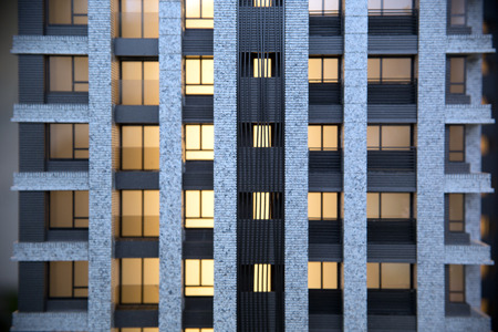 3d bungalow: model house conceptmodel house