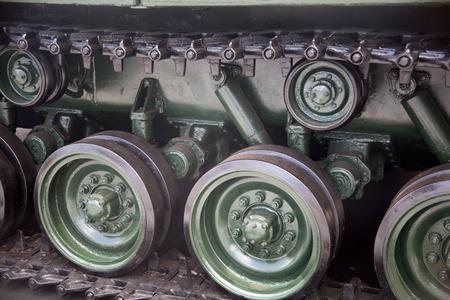 the amphibious: details of Amphibious vehicle Stock Photo