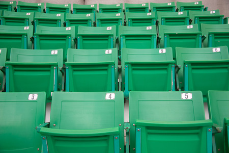 stadium chair Stock Photo - 28183347