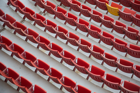 stadium chair Stock Photo - 28182698