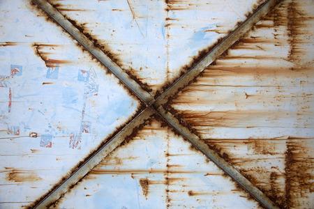 corrugated iron: Rusty Corrugated Iron