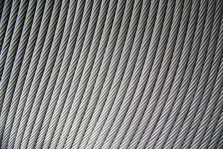 steel wire as shape background photo