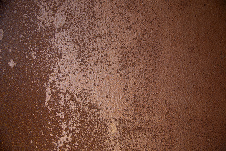 patch panel: weathered ironrusty steel Stock Photo