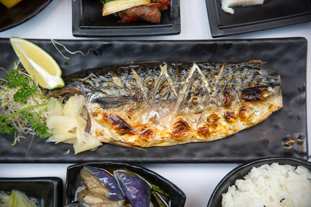 grilled fish set lunch