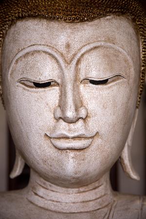 buda: ancient buda face