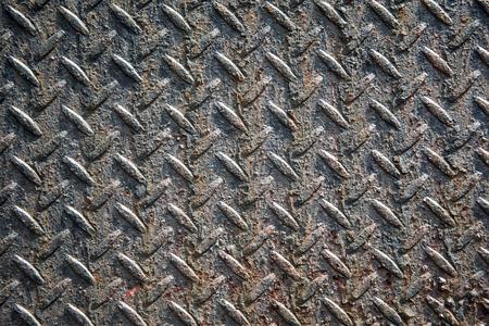 weathered: weathered iron door Stock Photo