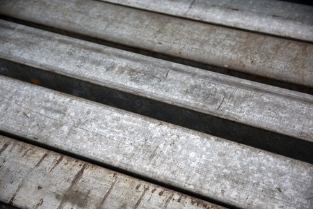 ironworks: rusty iron on rusty steel