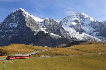 jungfraujoch: Aletsch Glacier landscape in the Jungfraujoch, Alps, Switzerland