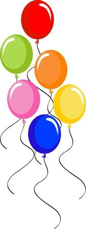 birthday celebration: Clipart Balloons