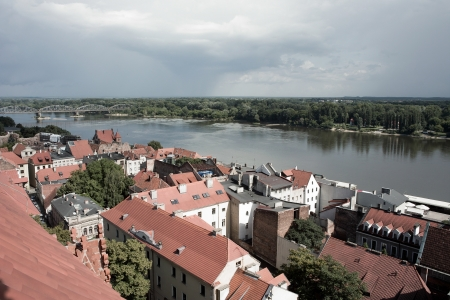 torun: Torun one of the oldest Polish cities with beautiful medieval buildings.