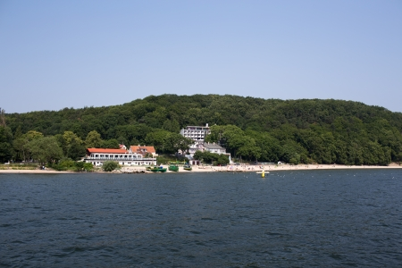 The Cliff, beautiful place in Gdynia-Orlowo, Poland  photo
