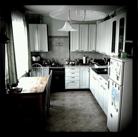 interior: Modern interior living of ordinary people