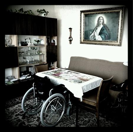 interior: Modern interior living of ordinary people.
