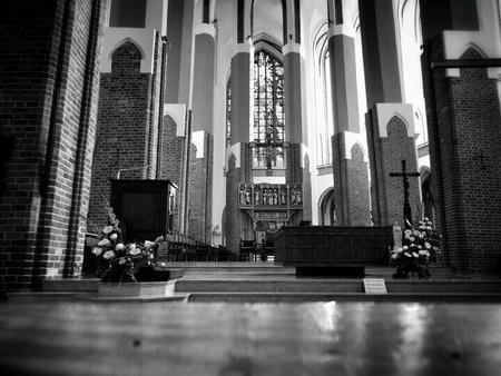 interior: Catholic Cathedral Interior.