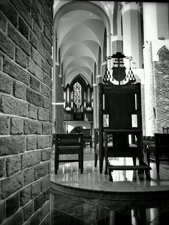 interior: Catholic Cathedral Interior.
